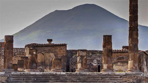 design pics inc the temple of jupiter and mount vesuvius pompeii italy 169 design pics inc rex