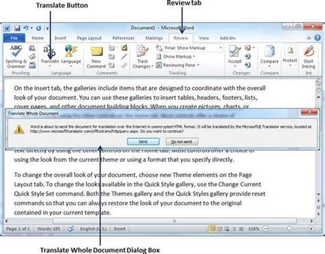 Translate Word Document