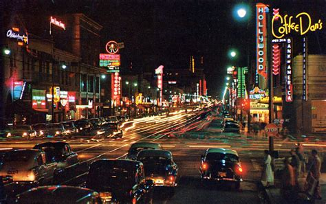 Color Photos of Hollywood California in the 1950s and 60s ~ vintage everyday