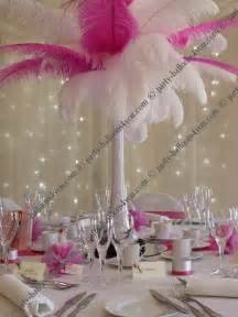 feather table centerpieces images