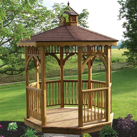 garden gazebo kits garden gazebo kits wooden outdoor screened gazebo kits