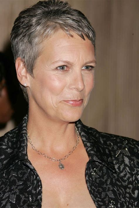 how to get the jamie lee curtis haircut jamie lee curtis haircut hair pinterest
