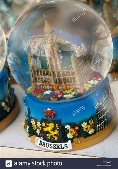 Souvenir Snowglobe Galery Mancanegara brussels souvenir a snow globe with palace that is on the grote markt stock photo royalty free
