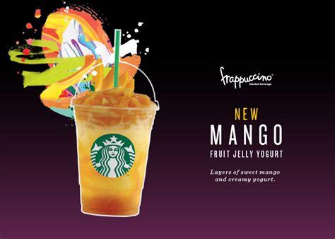 Bali Ratih Mix Manggo starbucks 1 for 1 mango strawberry fruit jelly yogurt frappuccino for rewards members every