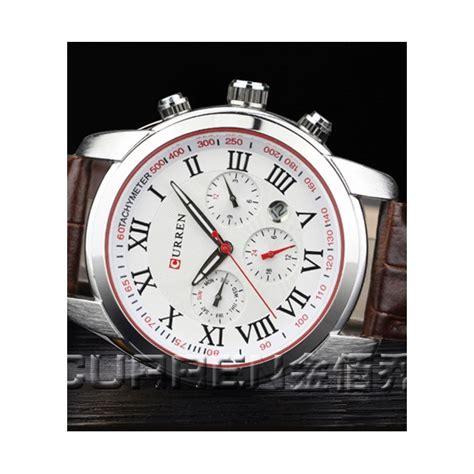 Jam Tangan Pria Original Anti Air Curren 8110 Black jual jam tangan pria branded