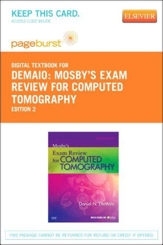 mosbyã s review for computed tomography e book books mosby s review for computed tomography pageburst e
