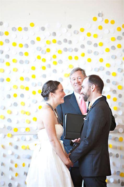Wedding Backdrop Yellow by Grey And Yellow Wedding Backdrops