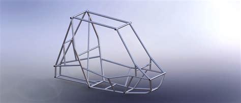 frame design in solidworks baja sae frame solidworks 3d cad model grabcad