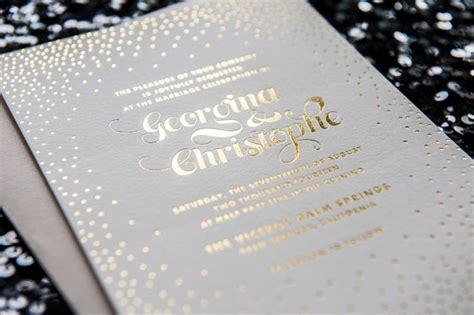 wedding invitations gold foil top compilation of gold foil wedding invitations