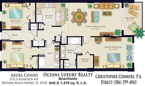 condos floor plans aruba condos floor plan 3721 s atlantic ave 32118