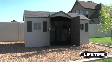 8 X 15 Shed by Lifetime 6446 15 X 8 Garden Shed Epic Shed Reviews