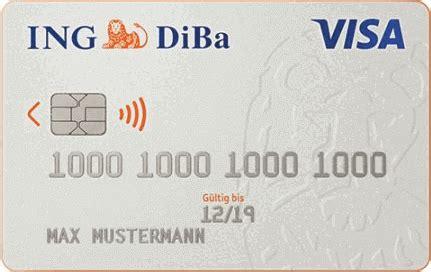 kreditkarte deutschland student ing girokonto im januar mit 75 pr 228 mie