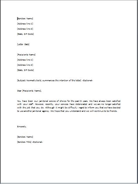 Decline Letter For Project Sle Rejection Letter Template Formal Word Templates