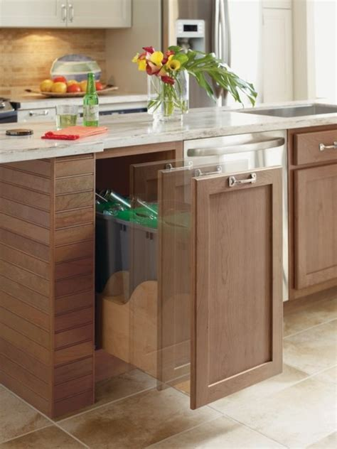 kitchen trash cabinet omega hands free kitchen cabinet trash cans other