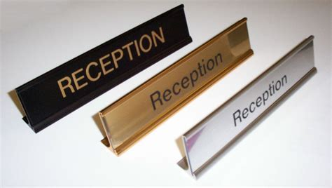 desk nameplates name plate holders desk signs