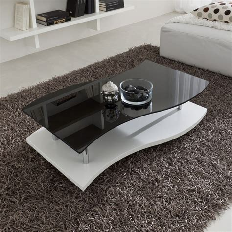 tavolo salotto steinar tavolino design da salotto in legno e vetro 103 x