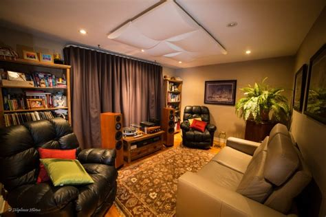 Helping A Canadian Audiophile Analyze And Improve His Room Living Room Acoustic Treatment
