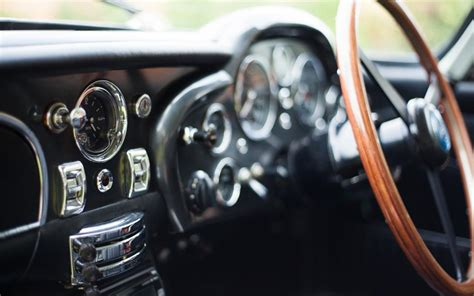 vintage aston martin interior aston martin car db5 interior macro gauges