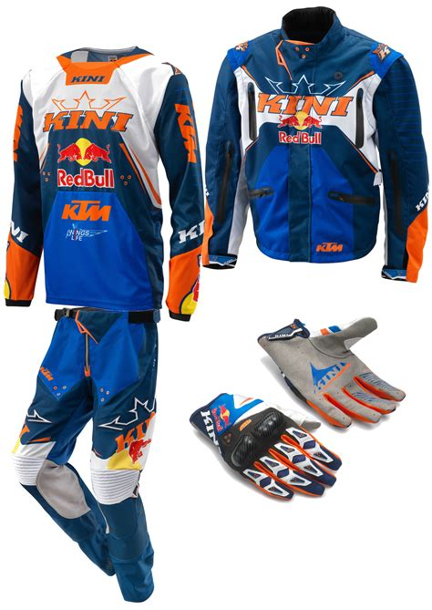 kini motocross gear aomc mx 2017 ktm kini redbull gear set