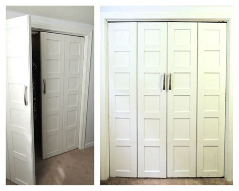 Bedroom Closet Doors Read Online Remodelaholic Bi Fold To Paneled French Door