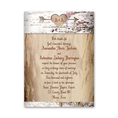 aged birch invitation engagement and wedding ideas wedding invitations cheap
