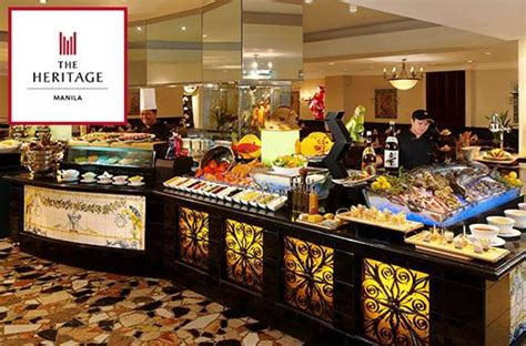 heritage hotels riviera cafe buffet promo