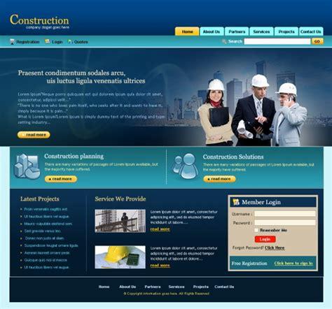 construction management html template 5696