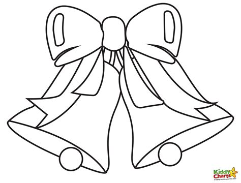 free printable coloring pages of christmas bells bell coloring pages