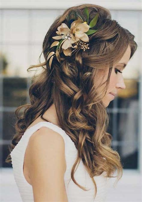 homecoming hairstyles with flowers 15 prom hair ideas for long hair long hairstyles 2016 2017