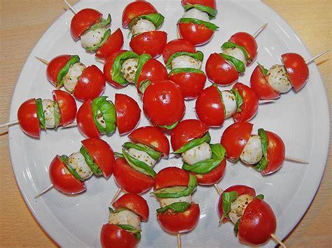 Tomate Mozzarella Schön Anrichten by Tomaten Mozzarella Spie 223 E Rezept Mit Bild