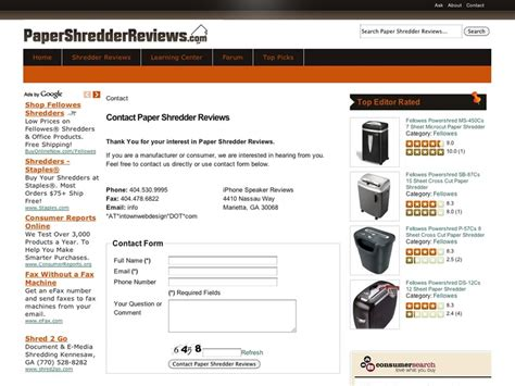 paper shredders reviews the office paper shredder reviews techieblogie info