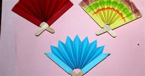 Kreasi Seni Budaya Dan Prakarya Untuk Sd Kelas 1v kreasi stik es krim kipas dekoratif untuk anak sd