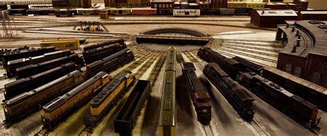model railroad layout lighting san diego model railroad museum balboa park