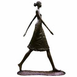 Home Interior Decoration Catalog by Tom Corbin Sculpture Quot Woman Walking Tall Quot Exclusive