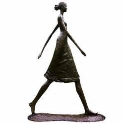Childrens Chandeliers Tom Corbin Sculpture Quot Woman Walking Tall Quot Exclusive