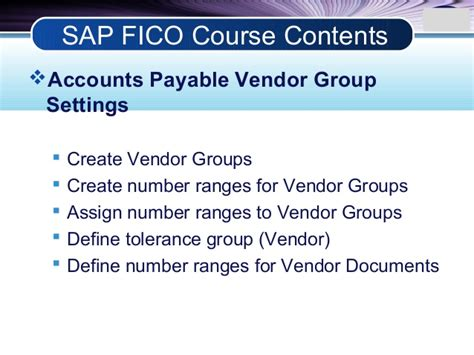 sap tutorial for accounts payable sap fico training sap fico online training sap fico course