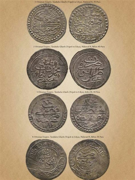 ottoman currency ottoman coins in libya kolleksiyon pinterest coins