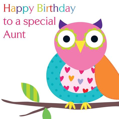 Gift Wrapping Paper Sheets - happy birthday aunt