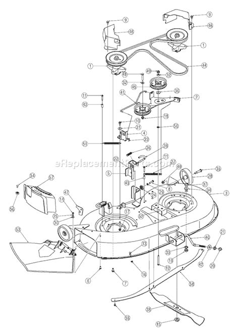yardman lawn mower belt diagram 42 inch murray lawn mower wiring diagram get free