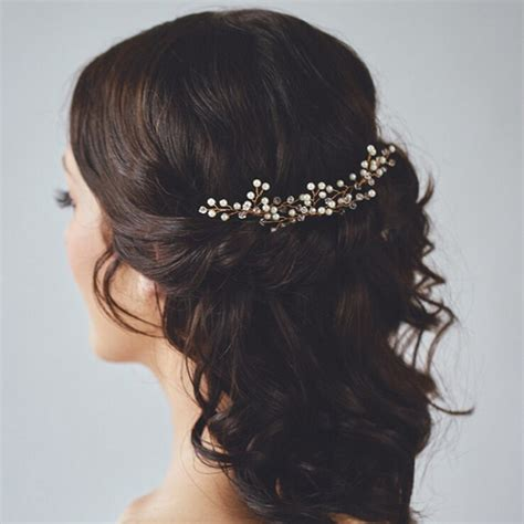 Wedding Hair Accessories Light by Pearl Wedding Bridal Hair Pins Ewahp040 As Low As