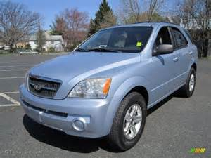blue metallic 2005 kia sorento lx 4wd exterior photo