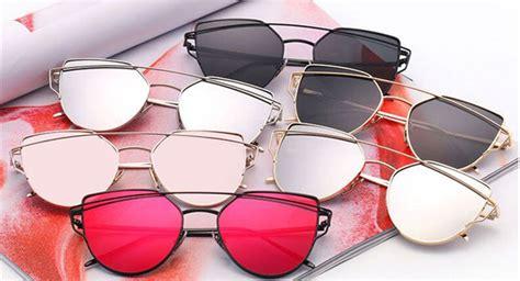 runbird kacamata wanita cat eye sunglasses classic black jakartanotebook