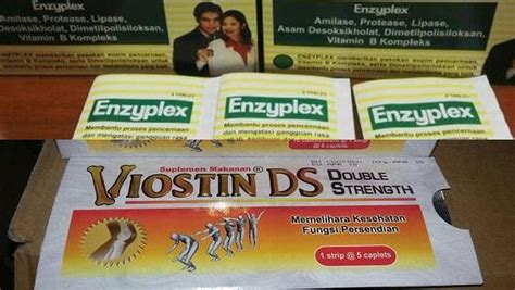 Obat Enzyplex mengandung dna babi bpom tarik produk viostin ds enzyplex