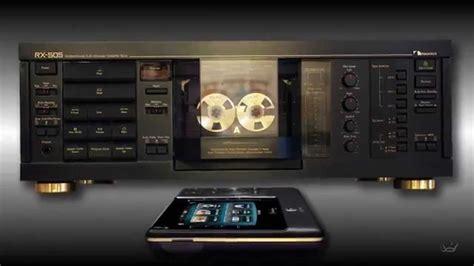 nakamichi cassette deck new no touch nakamichi rx 505 stereo cassette deck ir