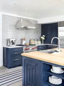 Blue Cabinets In Kitchen Navy Blue Kitchen Cabinet Color Benjamin Moore Raccoon Fur