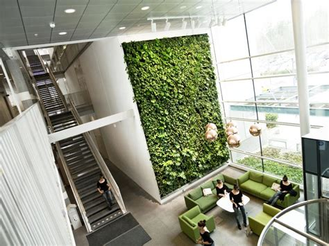 Home Office Wall living wall ideas for office