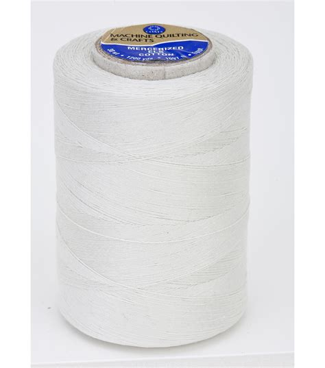 Thread For Machine Quilting by Coats Clark Cotton Machine Quilting Eggshell Jo