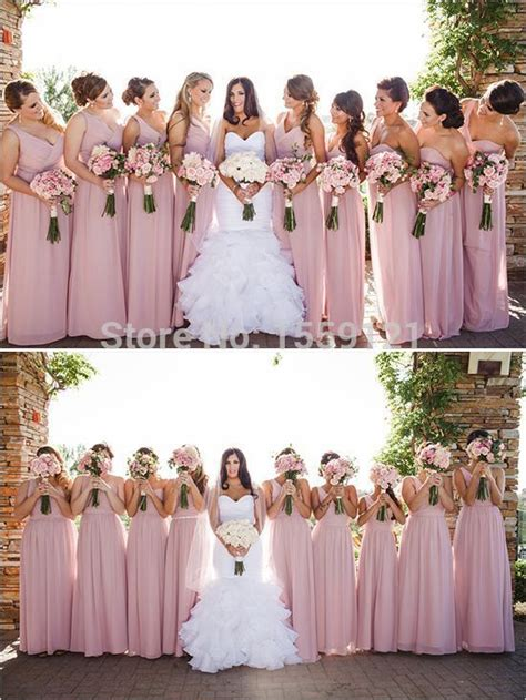 rose themed dress dusty rose and chagne bridesmaid dresses google