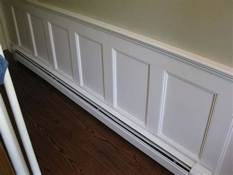 Baseboard For Wainscoting by Wainscoting With Baseboard Heater House