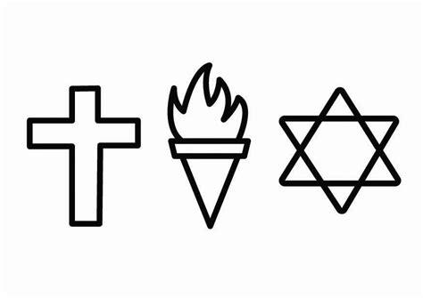 imagenes de la religion dibujo para colorear religi 243 n 233 tica img 26714